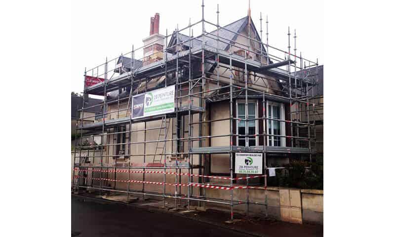 Rénovation de façades / Ravalement de façades avant travaux (près de Caen)