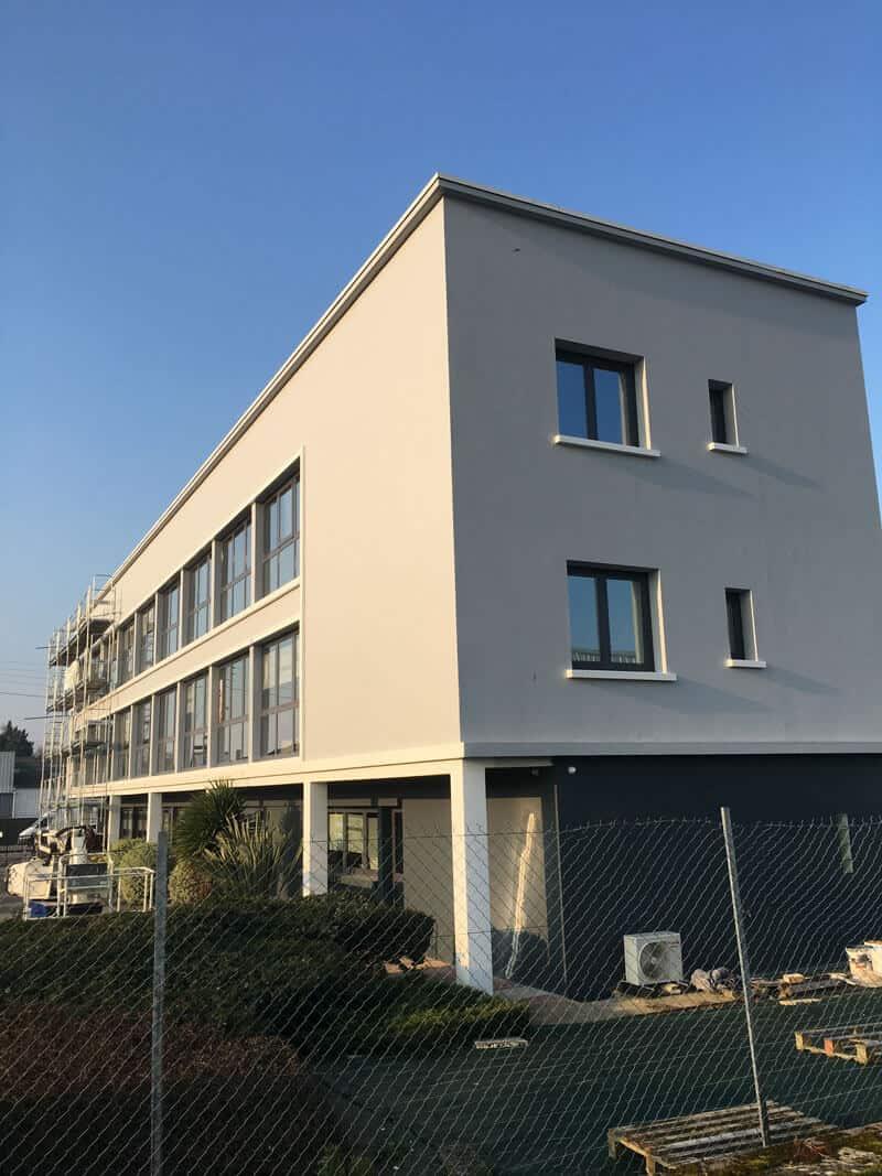 Ravalement d'un bâtiment à Caen (après travaux) - Rénovation de façades