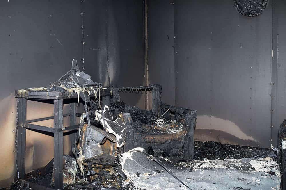 Sinistre incendie - Remise en état - Peintre à Caen (Calvados)