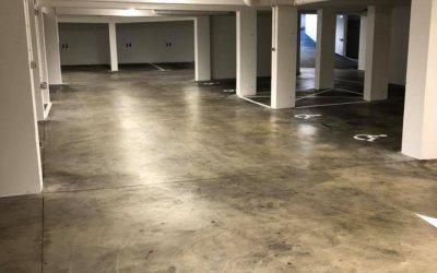 Rémise en état – Peinture d'un parking en sous-sol à Caen