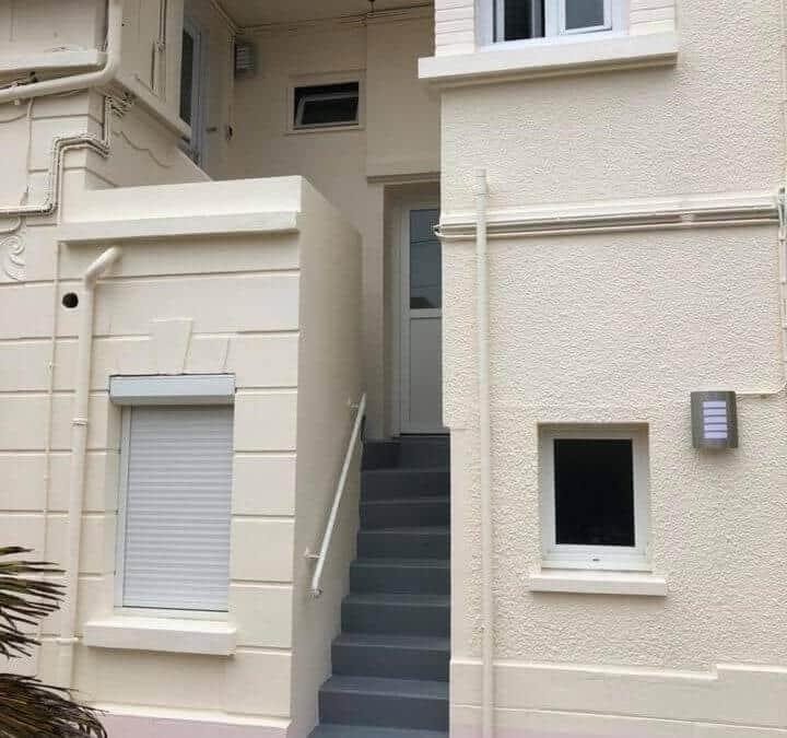 Ravalement de façades petit ensemble immoblier à Caen