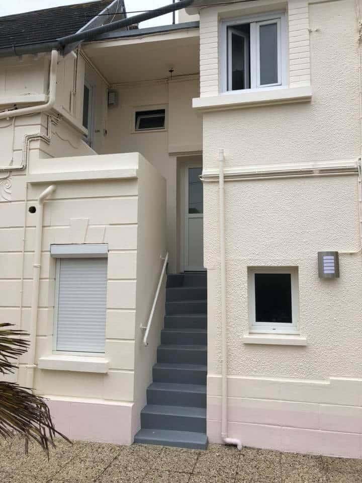 Ravalement façade appartements à Caen (Calvados -14)