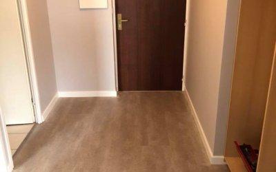 Peinture et revetements de sol dans un appartement à Caen