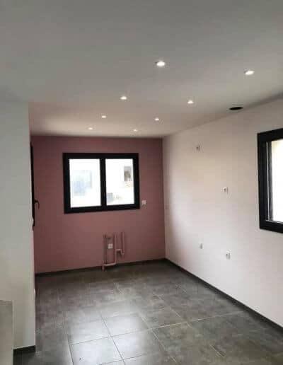 Peinture intérieure et sols maison à Bretteville sur Odon (Caen)