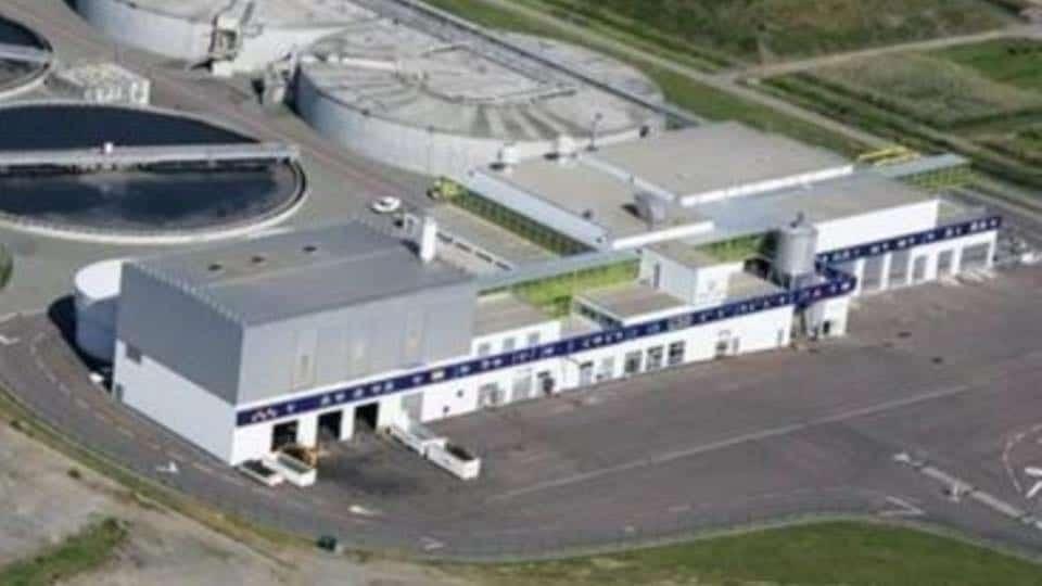 Ravalement de la station d'épuration de Caen