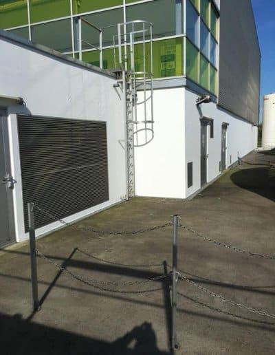 Ravalement station d'épuration de Caen