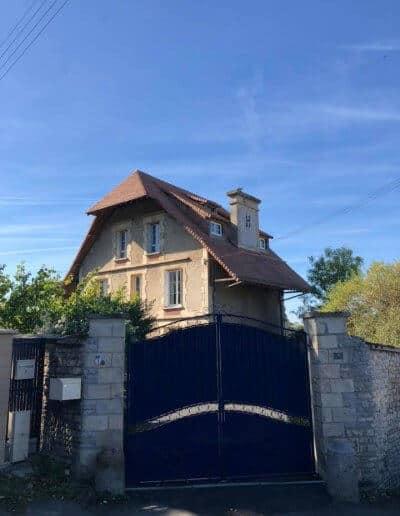 Ravalement d'une grande maison à Colombelles (près de Caen) - Avant les travaux