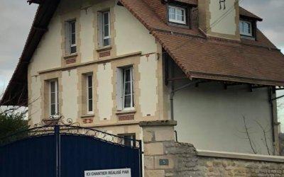 Ravalement d'une très grande et belle maison à Colombelles