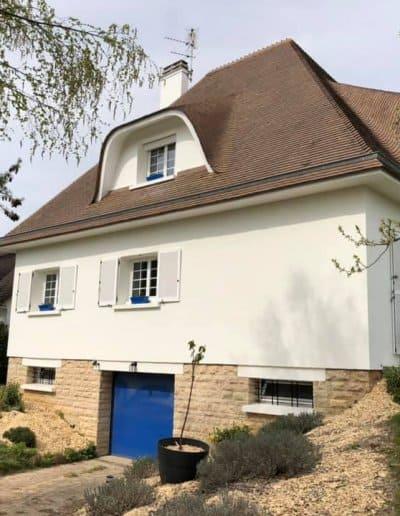 Ravalement d'une maison à Ifs (Caen - Calvados -14)