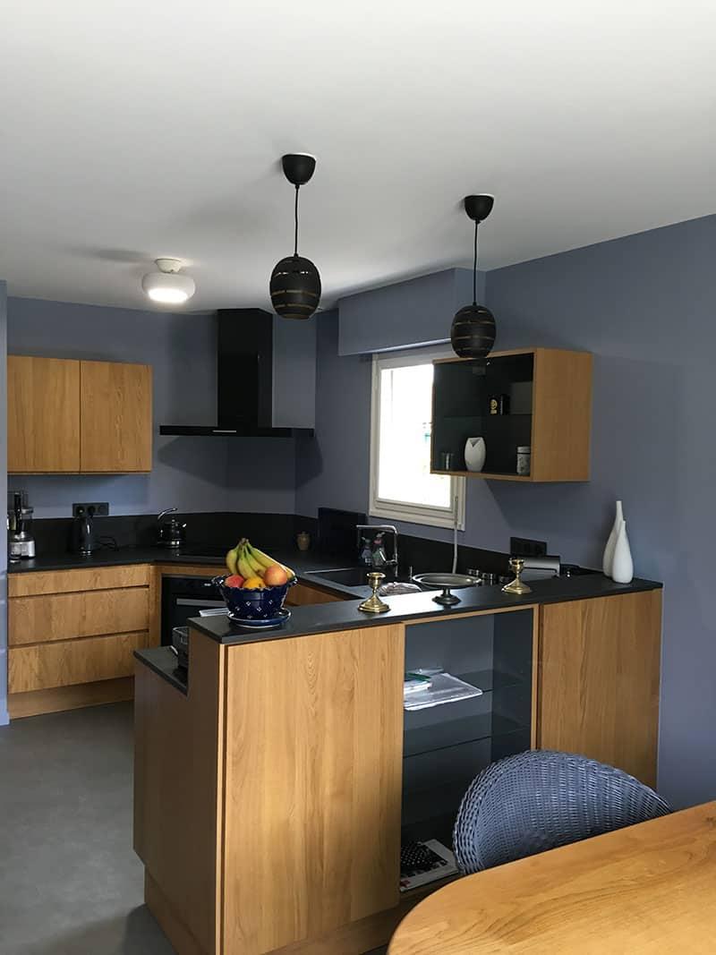 peinture cuisine maison à Caen - Décoration d'intérieur