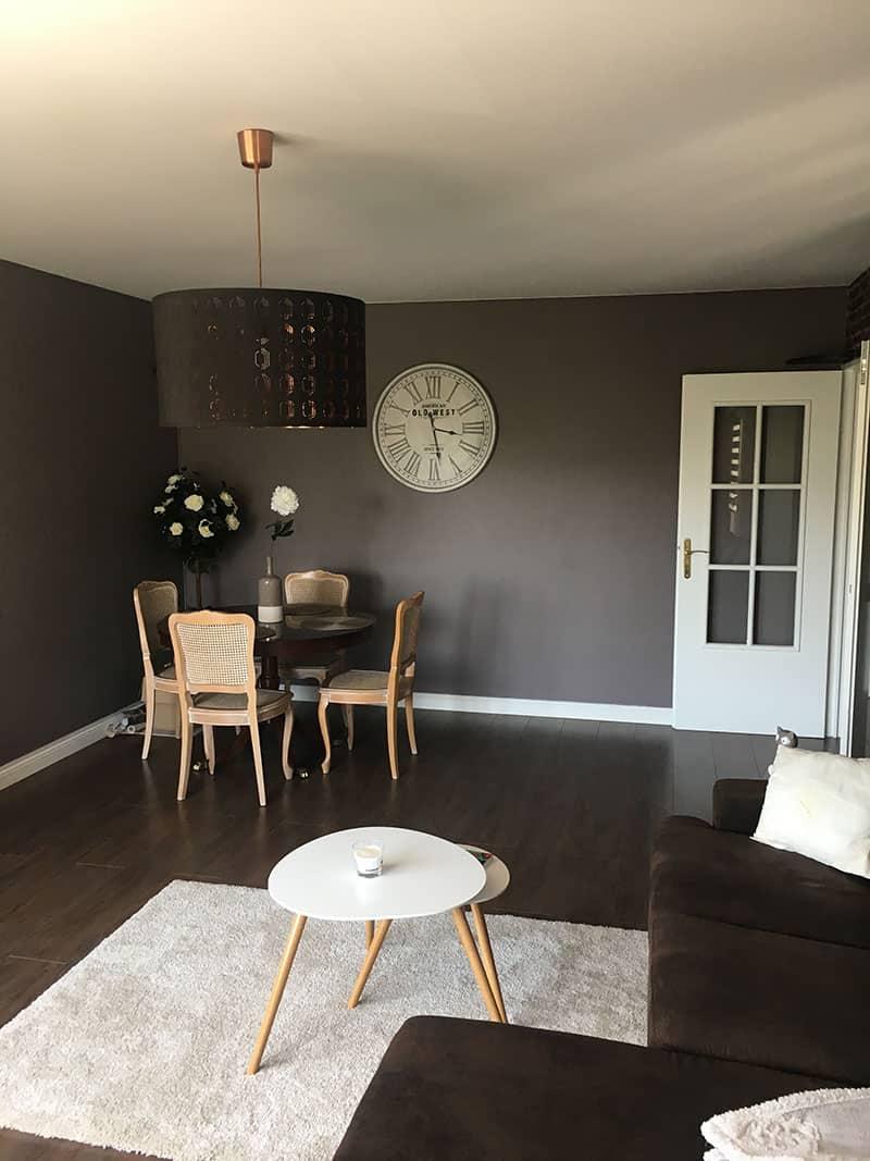 peinture salon, salle à manger maison à Caen - Décoration d'intérieur