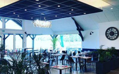 Décoration intérieure (peinture) pour le restaurant du GOLF de Caen