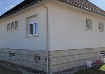 Ravalement d'une maison à Caen Ouest - Après travaux