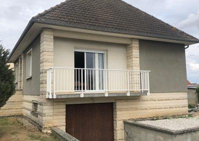 Ravalement d'une maison à Caen Ouest - Avant travaux