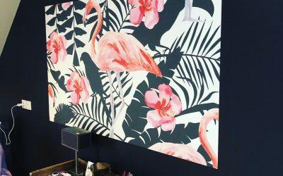 Intégration d'une panoramique papier peint