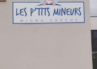 peinture intérieure (murs) d'une micro crèche au sud de Caen