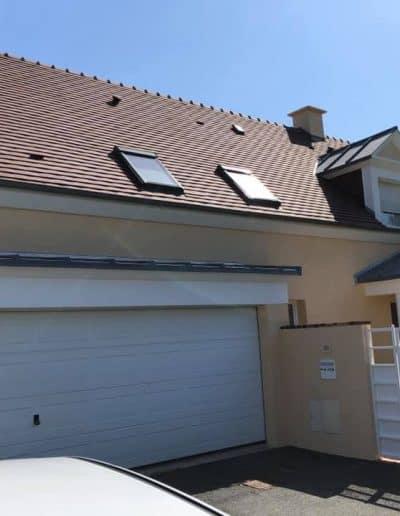Ravalement d'une maison en Normandie