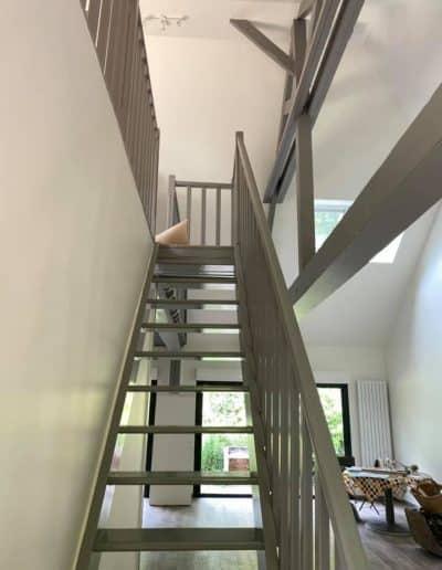Peinture et aménagement d'une superbe maison à Bavent (14)
