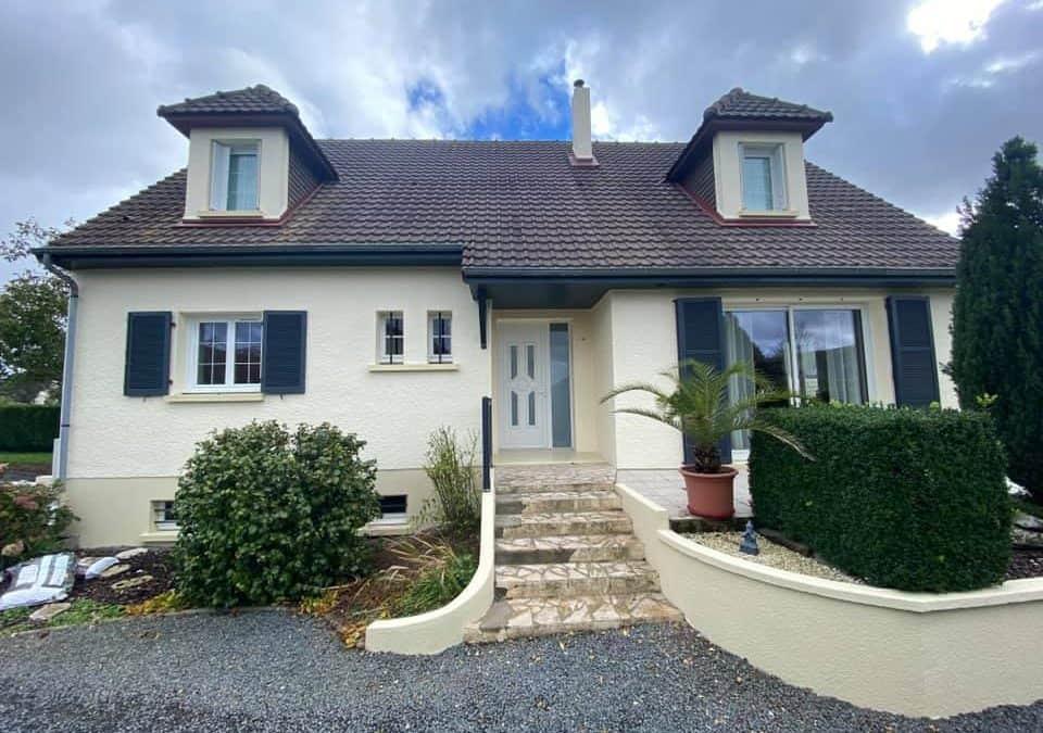 Super ravalement pour cette belle maison au sud de Caen (14)