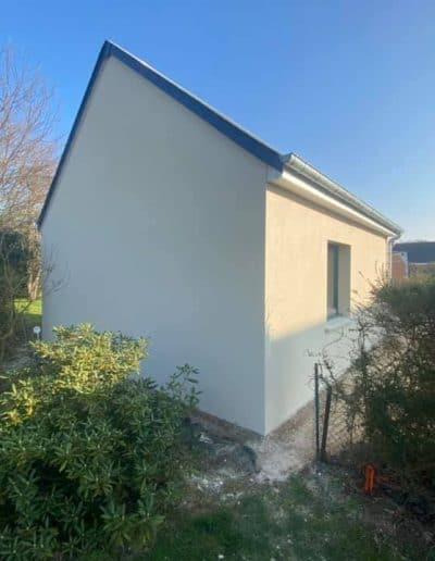 Ravalement façades maison neuve à Caen